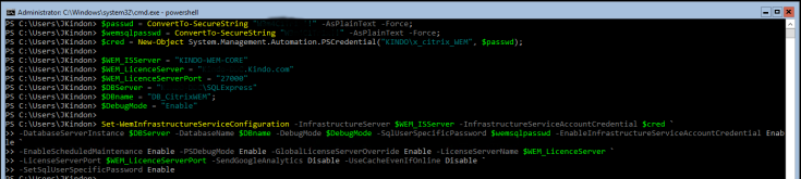 WEM_InfServices_Config_Powershell