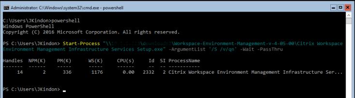 WEM_InfServices_Install