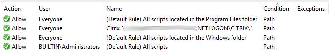 AppLockerScript