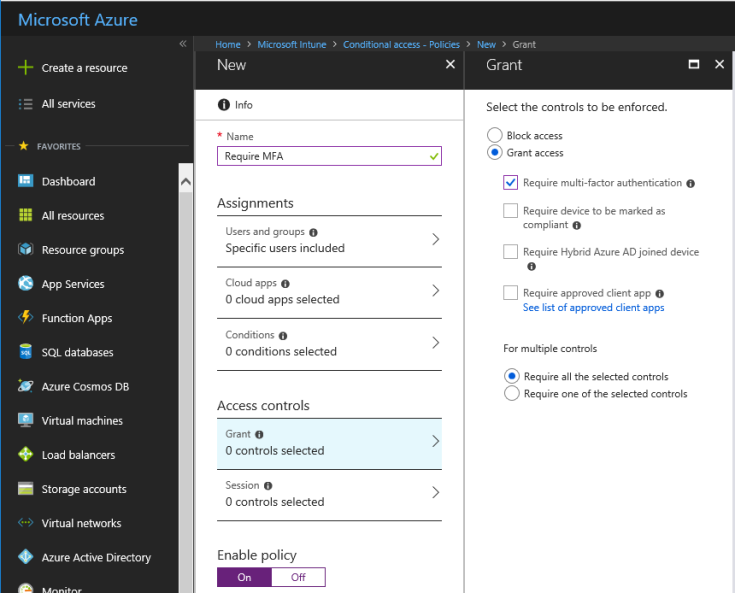 Azure MFA vs Conditional Access